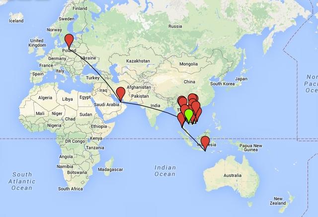 Bali Maggie Vs Map